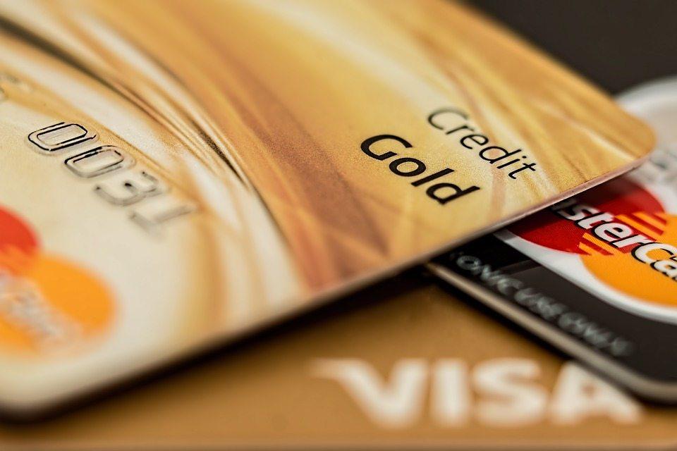 Kreditkort- Visakort og mastercard