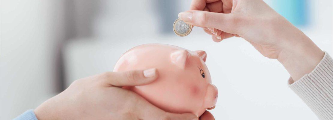 putter penge i opsparing